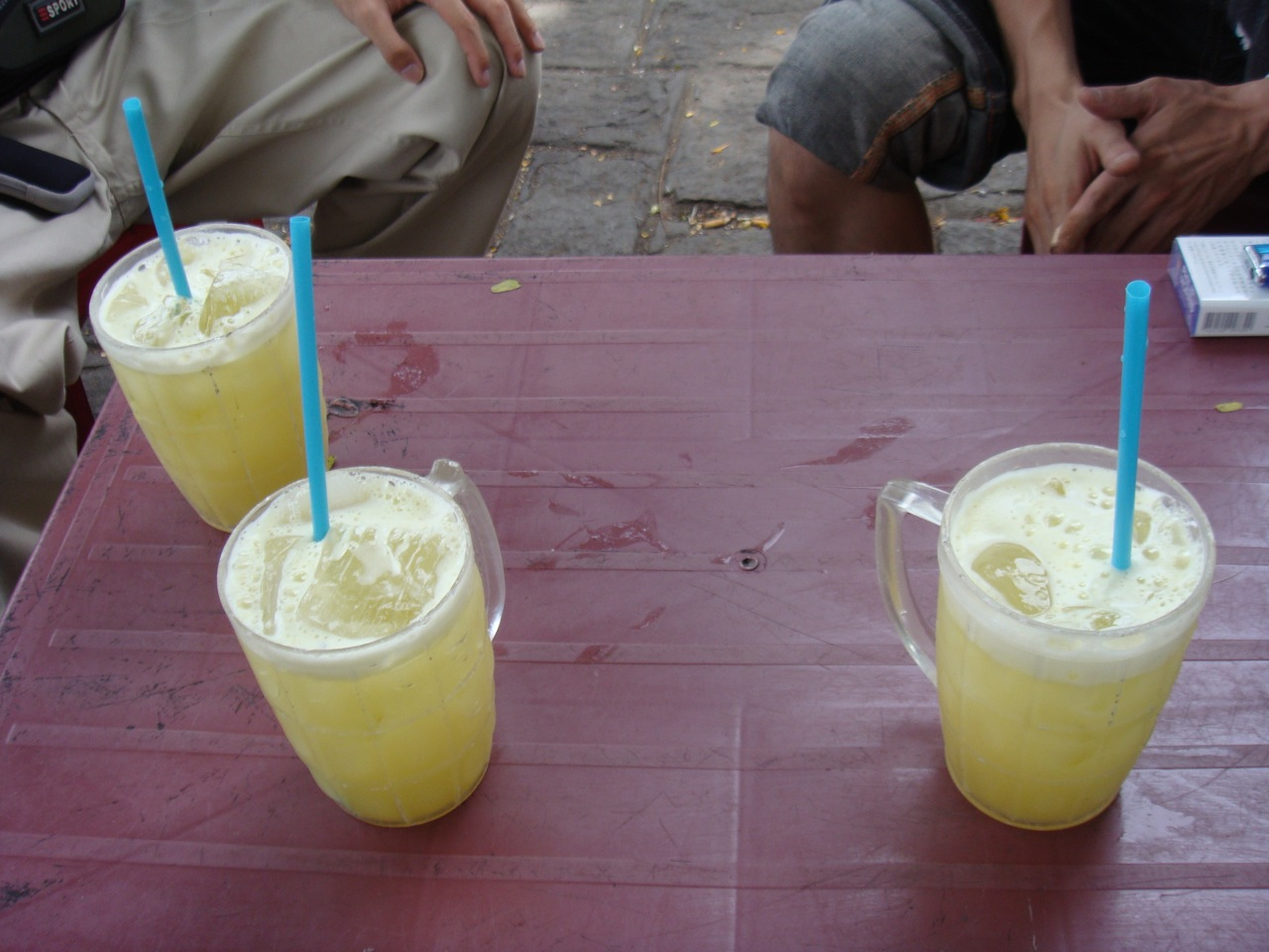 sugarcane juice in glass