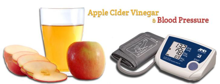 apple cider vinegar and blood pressure