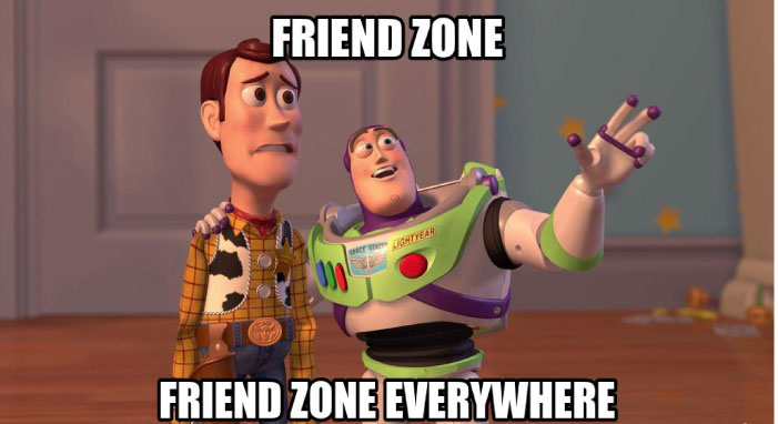 Friend zone is hot topic in internet